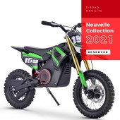 DIRTBIKE - MOTO électrique : Moteur 1200W - Batterie Lithium 48V 15Ah   #dirtbike #pitbike #motocross #cross #ATV #quad #quadenfant #moto