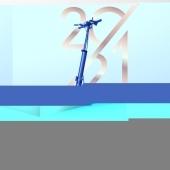 Nouveauté pour cette nouvelle année Trottinette électrique S5 - 500W - 48V