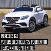 S O L D E S Mercedes GLE 12V Télécommande parentale Batterie 12V Roue gomme Lecteur Multimédia MP3   #voitureenfantelectrique #voitureenfant #audi #bmw #mercedes #ferrari #lamborghini #ford #rideoncar #electriccar #voiture12v #voiture24V #mini #fun #fiat #bentley