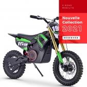 DIRTBIKE - MOTO électrique : Moteur 1200W - Batterie Lithium 48V 15Ah   #dirtbike #pitbike #motocross #cross #ATV #quad #quadenfant #moto